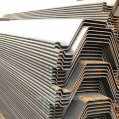 Tongue-and-groove piles of the Z AZ 19 profile