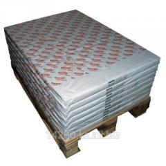 Бумага мелованная резаная, плотность 100 гм2 формат 45 х 31 см