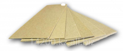 The cardboard binding PKS in pallet of 425 sheets,