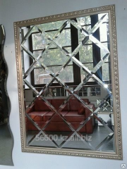 Facet mirror panel