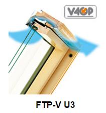 Dormer-windows of FAKRO FTP-V U3