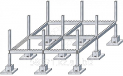 Detail of a crossbar assembly and monolithic