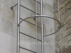 Fire-escape from stainless steel