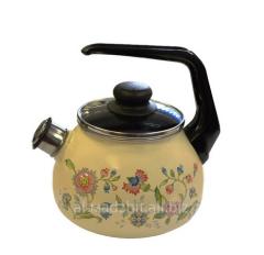 Чайник со свистком Луговые цветы