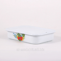 The tray enameled Fores