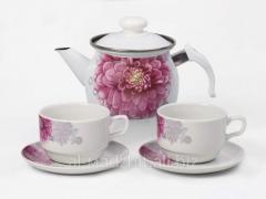 Tea set No. 195 Dahlia