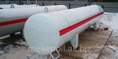 THE ODNOSTENNY TANK FOR SUG LAND, VOLUME IS 100 M3
