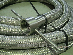 METALSLEEVES OF THE HIGH PRESSURE FROM STAINLESS