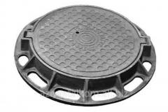 Pig-iron manholes GTS, round Type (L)