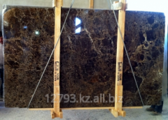 Slabs from marble
