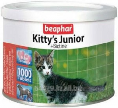 Vitamins for kittens of Kitty s Junior + Biotin 1