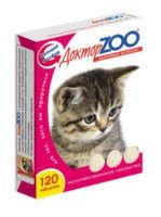 Vitamins the Doctor of ZOO for kittens 120tab