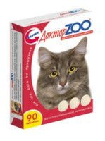Vitamins the Doctor of ZOO for cats Health of Skin