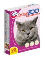 Vitamins the Doctor of ZOO for cats with taste of