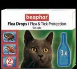 Капли Beaphar Биофар Flea Drops for Cats от блох и