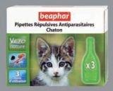 Капли Beaphar Биофар Veto Nature spot on Kitten от