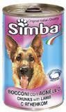 Simba Dog canned food of Simba for dogs pieces