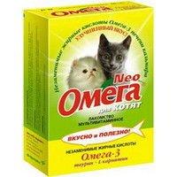 Мультивитаминное лакомство Омега Neo Для котят