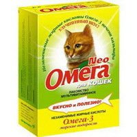 Multivitamin delicacy Neo Omega For cats Seaweed