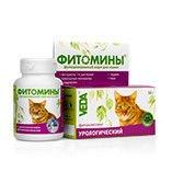 Фитомины с урологическим фитокомплексом для кошек,