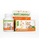 Фитомины с фитокомплексом для иммунитета кошки,