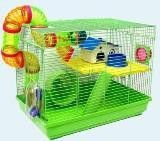 The cage 513B for hamsters, the size is 47х30х37