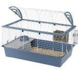 Cage of Ferplast Casita 100 Bianca In&-Out