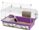Cage of Ferplast Cavie 80 Decor for rabbits and