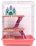Cage for hamsters, rats, 35x26x46 cm