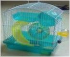 Cage for hamsters, the size 23*17*24,5sm