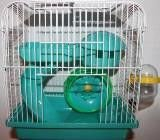 Cage for hamsters, the size 23*17*h24,5sm