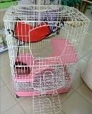 The cage for chinchillas 3 floors R62, the size is