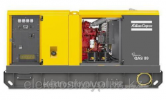 Diesel (generator) power station of Atlas Copco