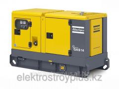Diesel (generator) power station of Atlas Copco