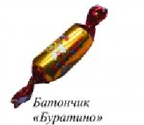 Candy bar of Lion of Buratin