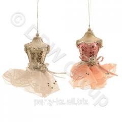 Декор Платье на манекене 12x15cм 2