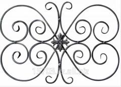 Декоративные элементы из черного металла
