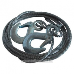 Cable steel galvanized DIN 3055