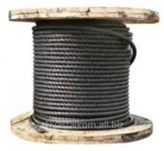Cable for a cradle construction