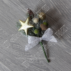 New Year's bouquet with a gold star, small