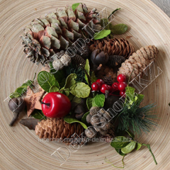 Mix of a New Year's decor of the Potpourri