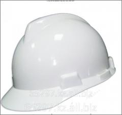 Строительная каска GS белая