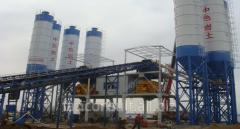 Concrete station HZS180 (automatic)