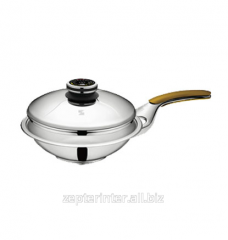 Frying pan of WOK of 24 cm, 2,4 l, with ATC