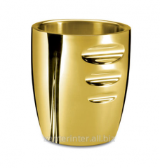 Bucket for ice gilded LS-120-IB-GP