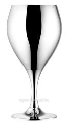Glasses for wine the silvered 6 pieces of LS-173-2