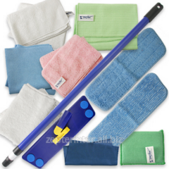 Set No. 1 for cleaning of 10 objects (a mop with