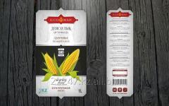The corn oil refined, deodorized