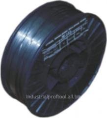 Wire steel, powder for semi-automatic welding