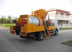 Equipment for service of roads, Equipment for